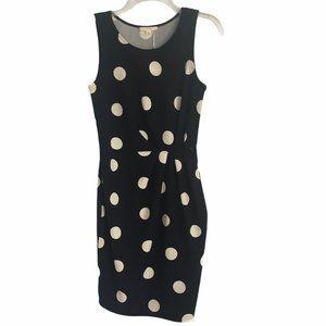 Le Lis Polka Dot Sleeveless Dress